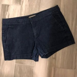 🆕 Banana Republic Denim Shorts Size 12